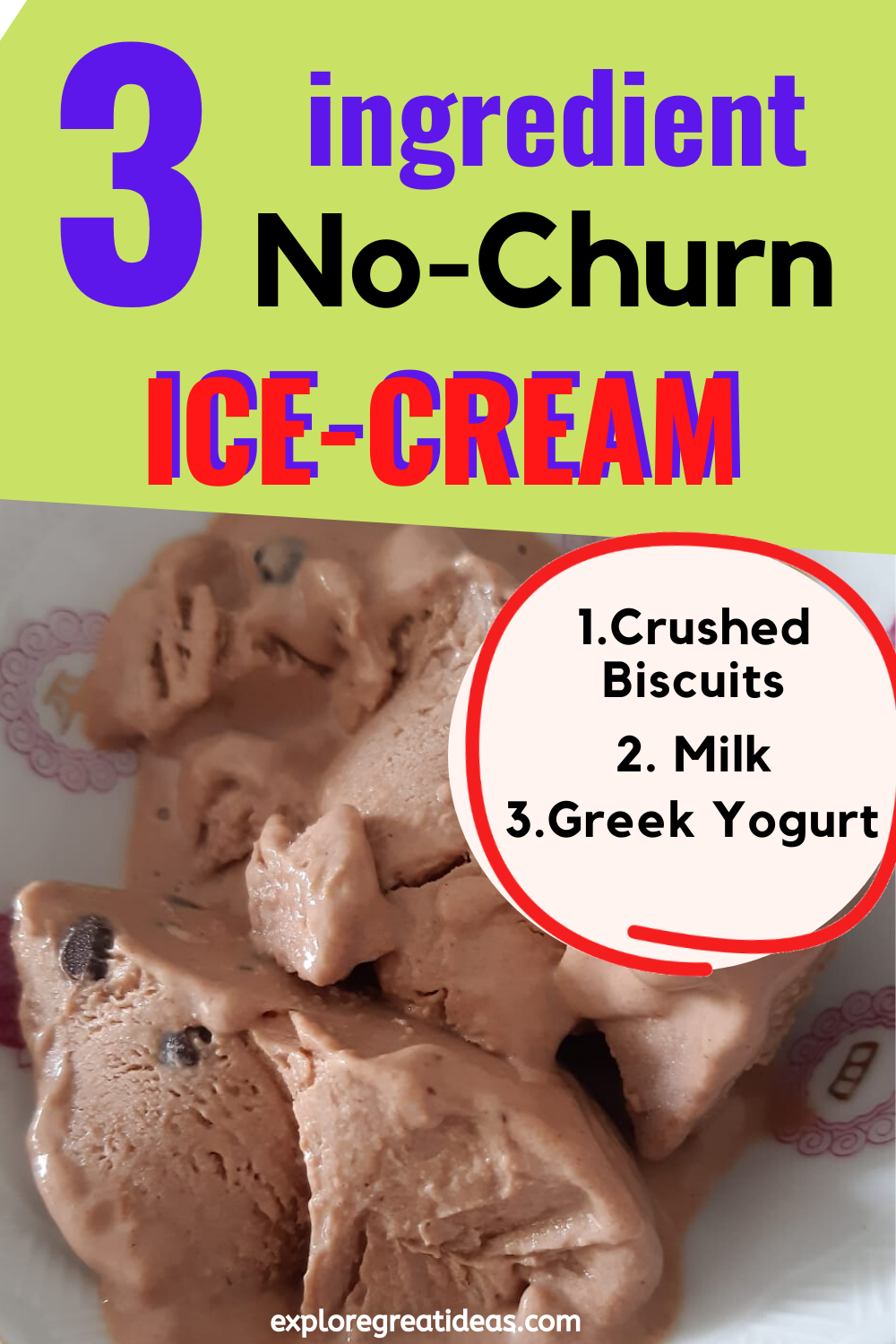 No Churn Homemade Ice Cream Recipe In 2020 Ice Cream Homemade Ice Cream Homemade