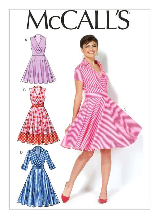 M7081 | McCall\'s Patterns | Dress Patterns | Pinterest | Patterns ...