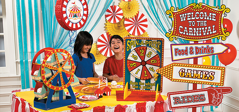 carnival theme party supplies birthday ideas carnival party