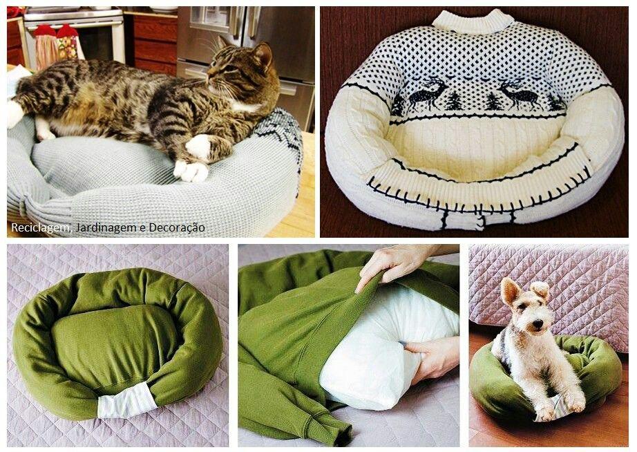 Easy Diy Cat Bed Diy Pet Bed Diy Stuffed Animals