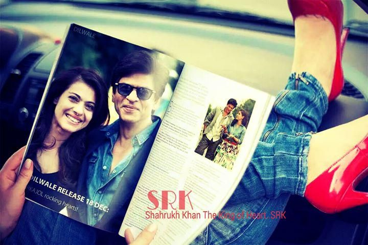 SRK and Kajol - Dilwale (2015)