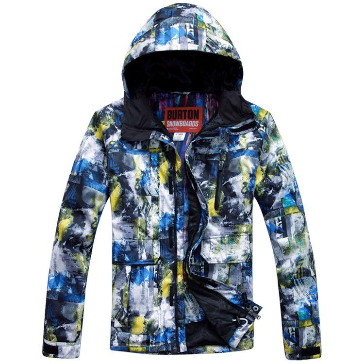 Ski Jacket Men Skiing Clothing Men's Outdoor Sport Jackets ...