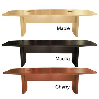 Mayline Aberdeen Foot Boat Shaped Conference Table Overstock - 6 foot office table