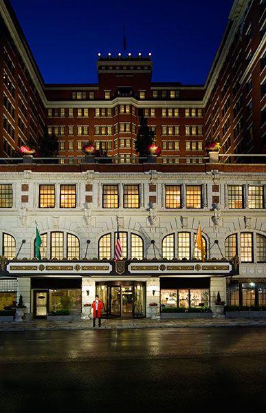 The Davenport Hotel Spokane Hotel Exterior Davenport Hotel