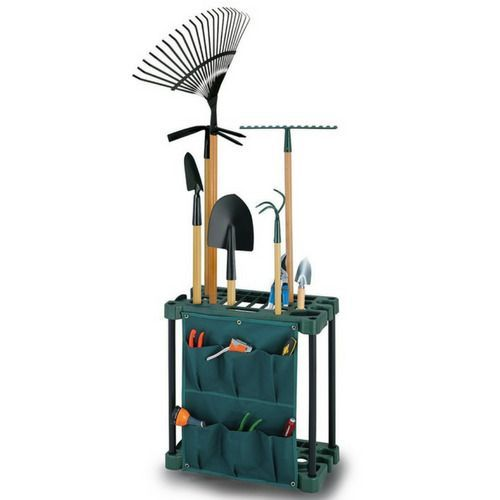Storage Organiser Rack for Garden Tool Plastic Floor Unit Hanger Stand Tools for sale online  Storage Organiser Rack for Garden Tool Plastic Floor Unit Hanger Stand Tools...
