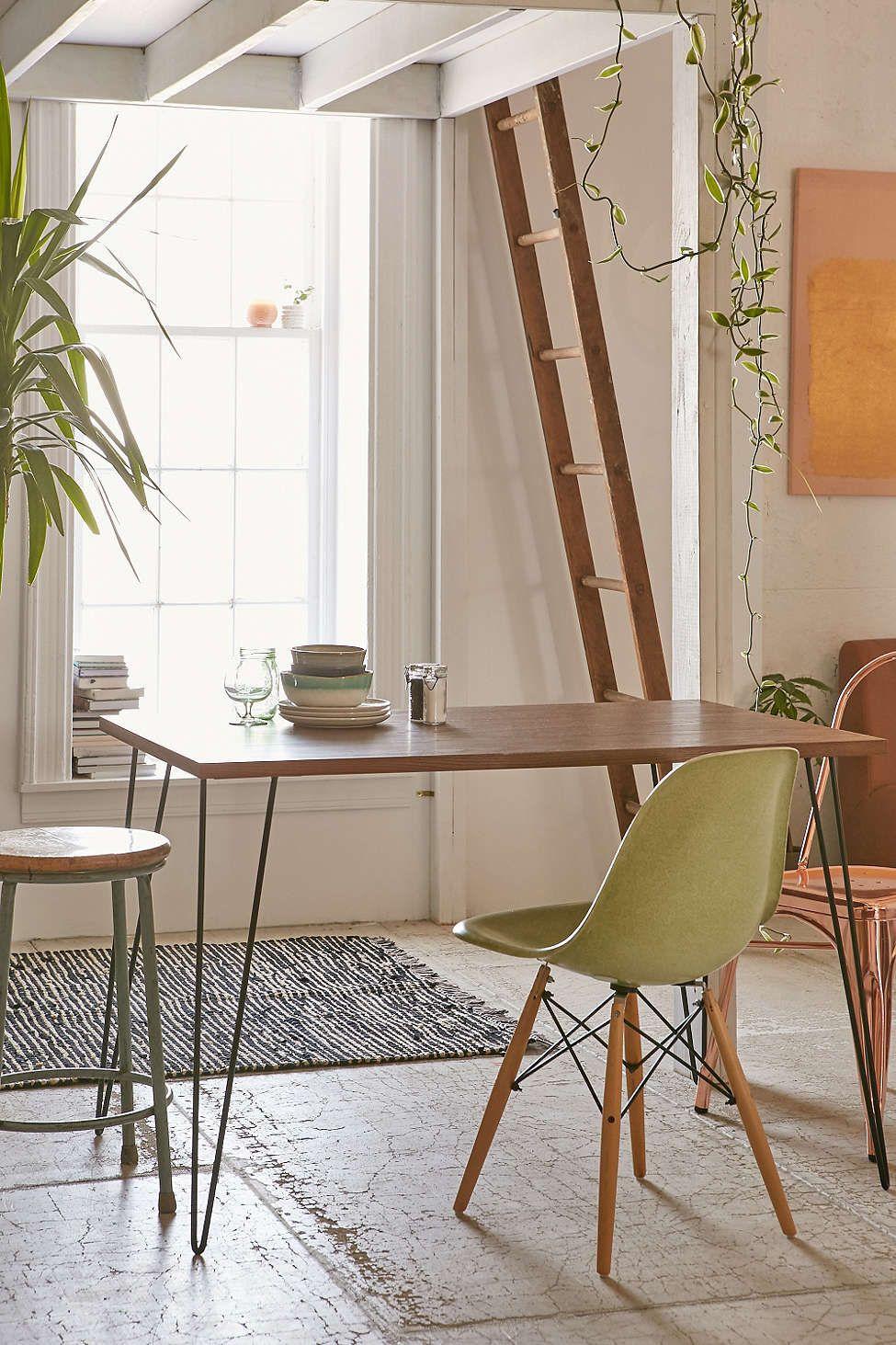 Esszimmer mit küche loft side table  tiny house  pinterest  haus zuhause und essecke