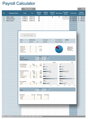 Calculate Payroll In Your Organization Using Only Microsoft Excel