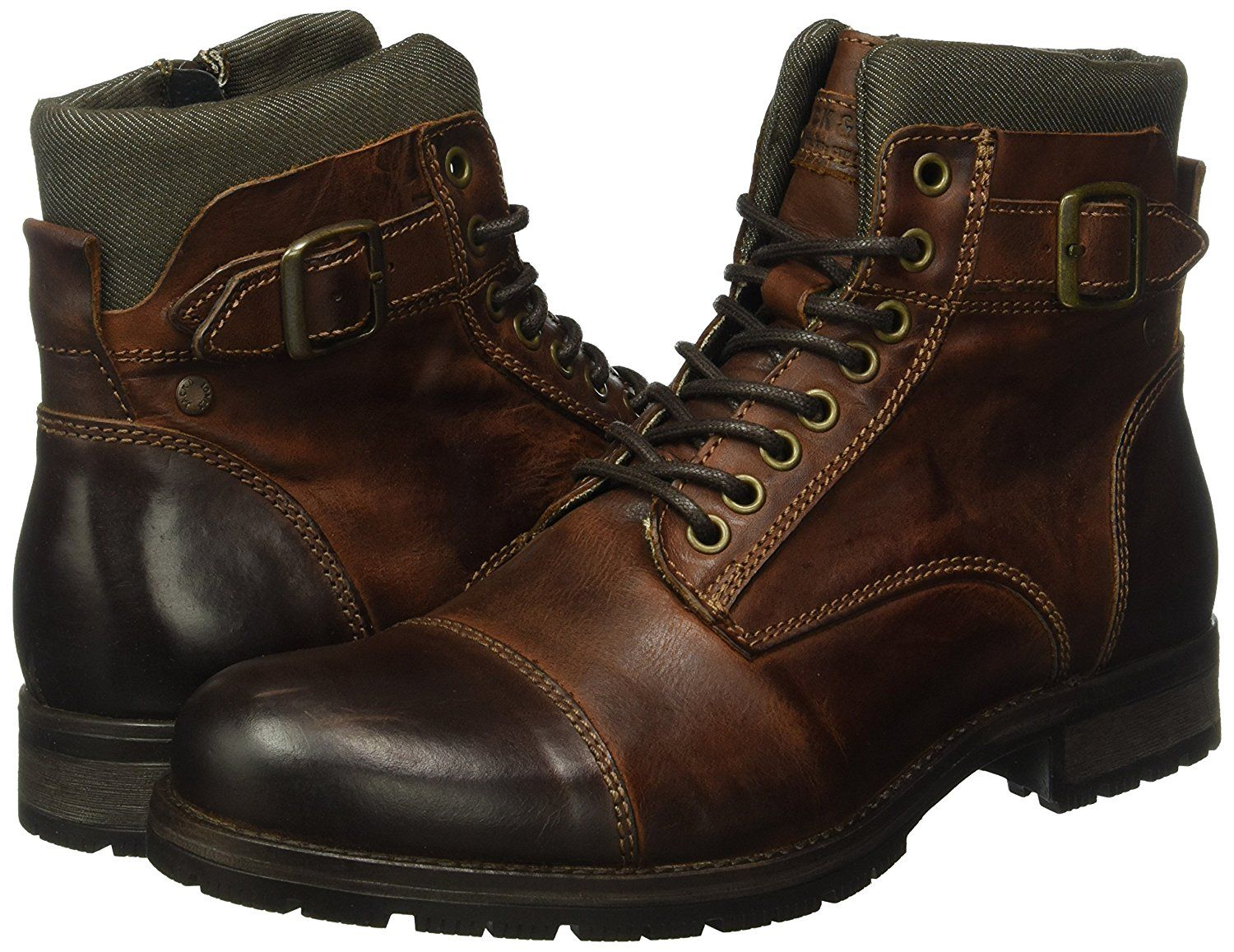Jack Jones Men S Albany Ankle Boots Amazon Co Uk Shoes Bags