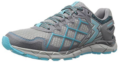 361 Womens OrtegaW Trail Runner GreyPeacock Blue 95 M US >>> Click image to review more details.