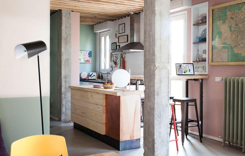 Isola in cucina: realizzala fai da te