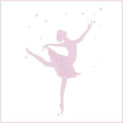 stickers danseuse etoile danse pinterest silhouettes. Black Bedroom Furniture Sets. Home Design Ideas