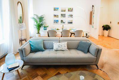 canap gris syllabe roche bobois id es pour la maison pinterest living room room and home. Black Bedroom Furniture Sets. Home Design Ideas