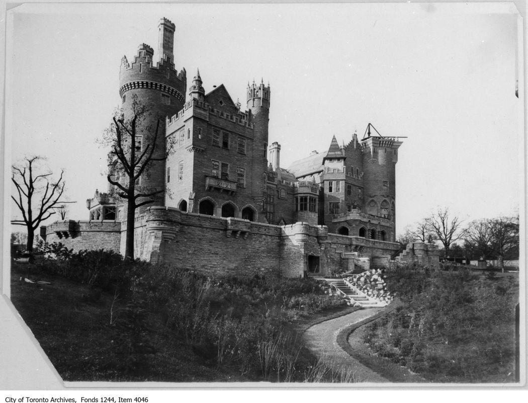 Casa Loma under construction circa 1911. Photo courtesy of