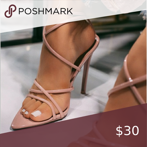 Nude heels, 'intuition' LOLABOUTIQUE Worn once, perfect conditions Lola Shoetique Shoes Heels