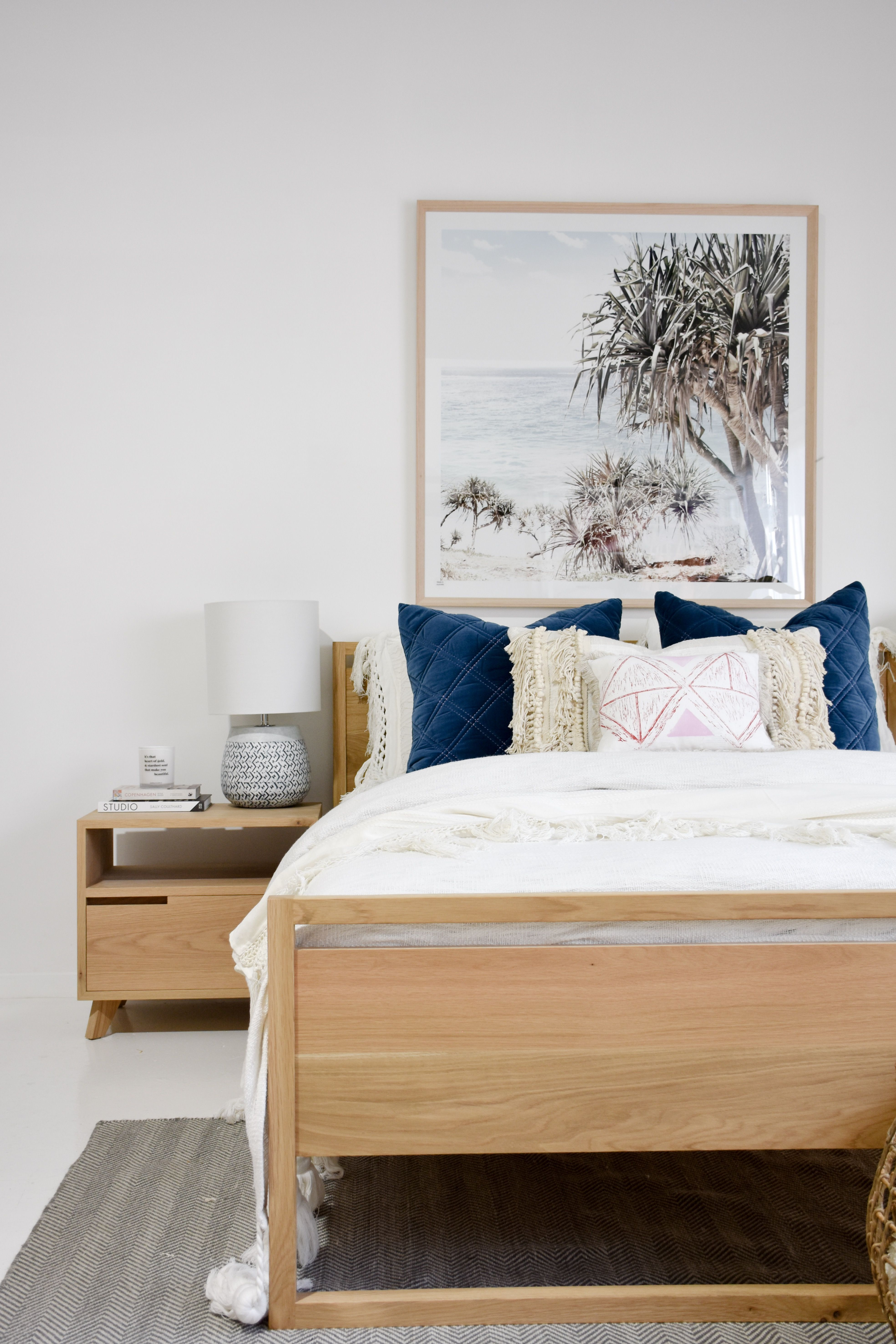 Our Dani Bed And Freja Bedside Tables Both In American Oak. Furniture,  Interior Decor