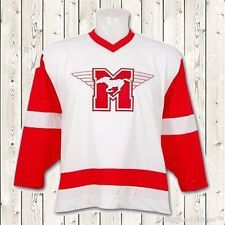 Dean Youngblood Movie Hockey Jersey Mustangs Rob Lowe  10 Stitched Sewn  White 97d405d1ae