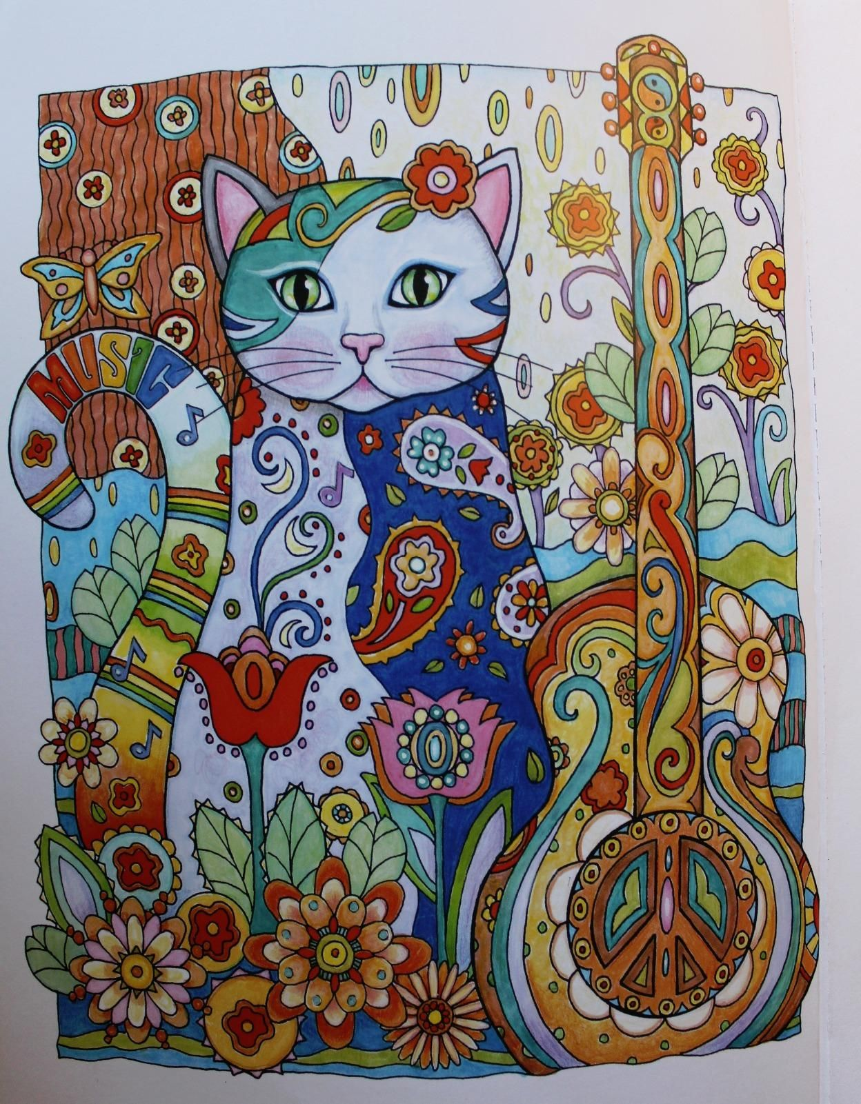 Creative haven creative cats coloring book creative haven coloring