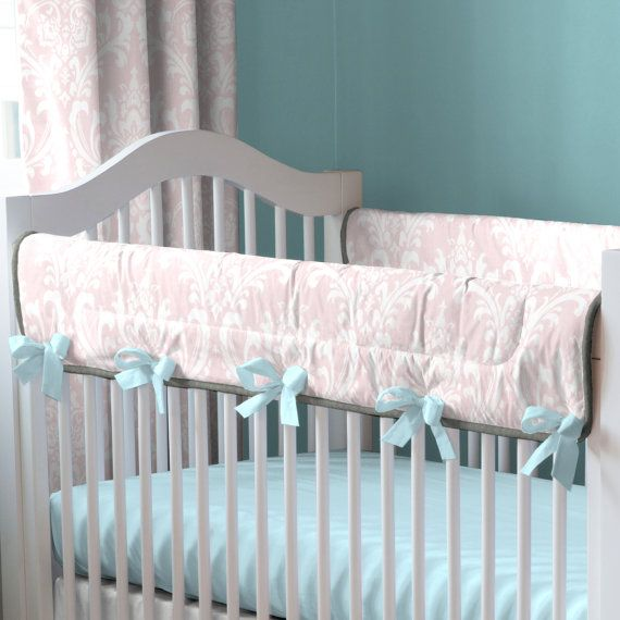 Carousel Designs Ritzy Baby Crib Rail Cover by CarouselDesignsShop, $69.00