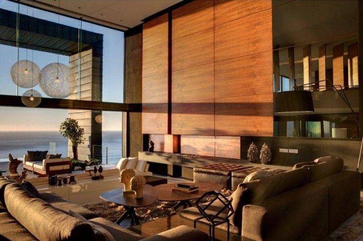 Maison contemporaine avec vue sur la mer en Afrique du Sud mes