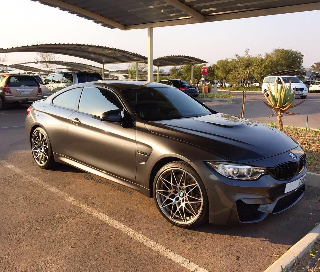 Satin Black Bmw M4 Competition Pack Spotted By Supercarsofsa That