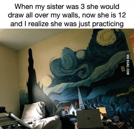 I Envy Her Talent Amazing Art Art Funny Memes