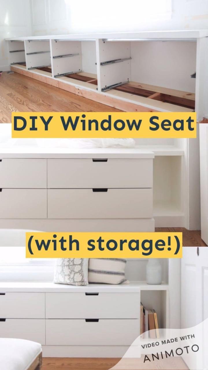 DIY Ikea Window Seat with Nordli Hack