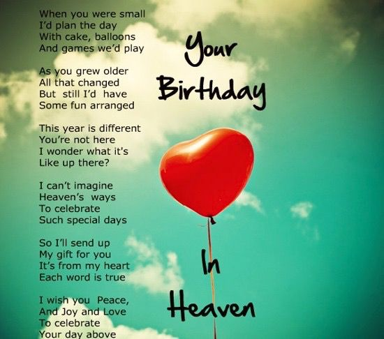 Birthday In Heaven, Birthday In