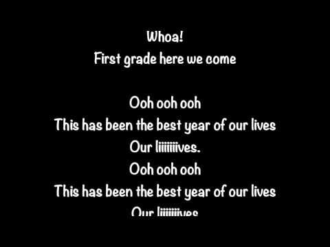 kindergarten graduation song best