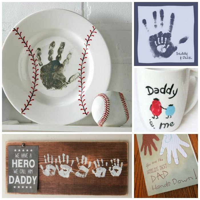 25 Hand Print Gift Ideas For Father S Day How Cute Are These My Hubby Would Love