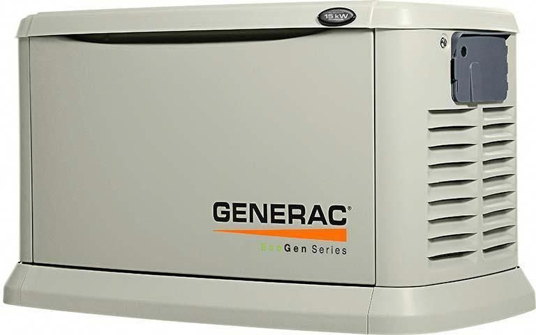 Generac 6440 Centurion Series Gas Powered 11 000 Watt Standby Generator Standby Generators Transfer Switch Generation