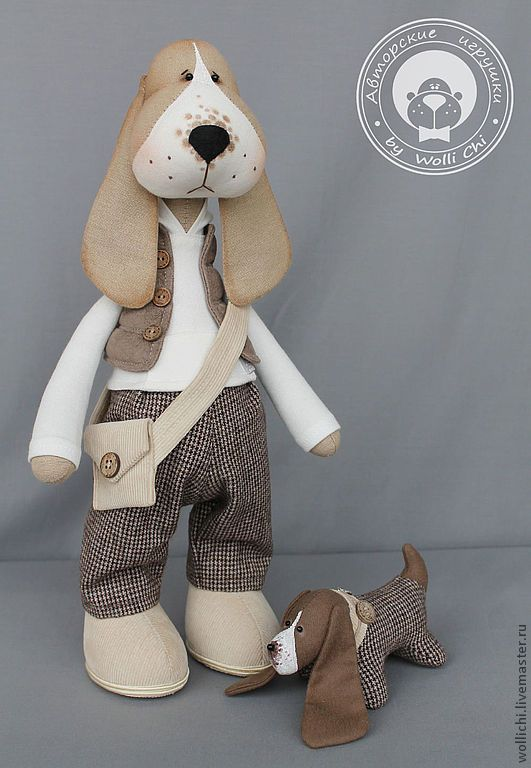 Basset Barni | Kreativ idee - Handarbeit - Tilda - Puppen ...