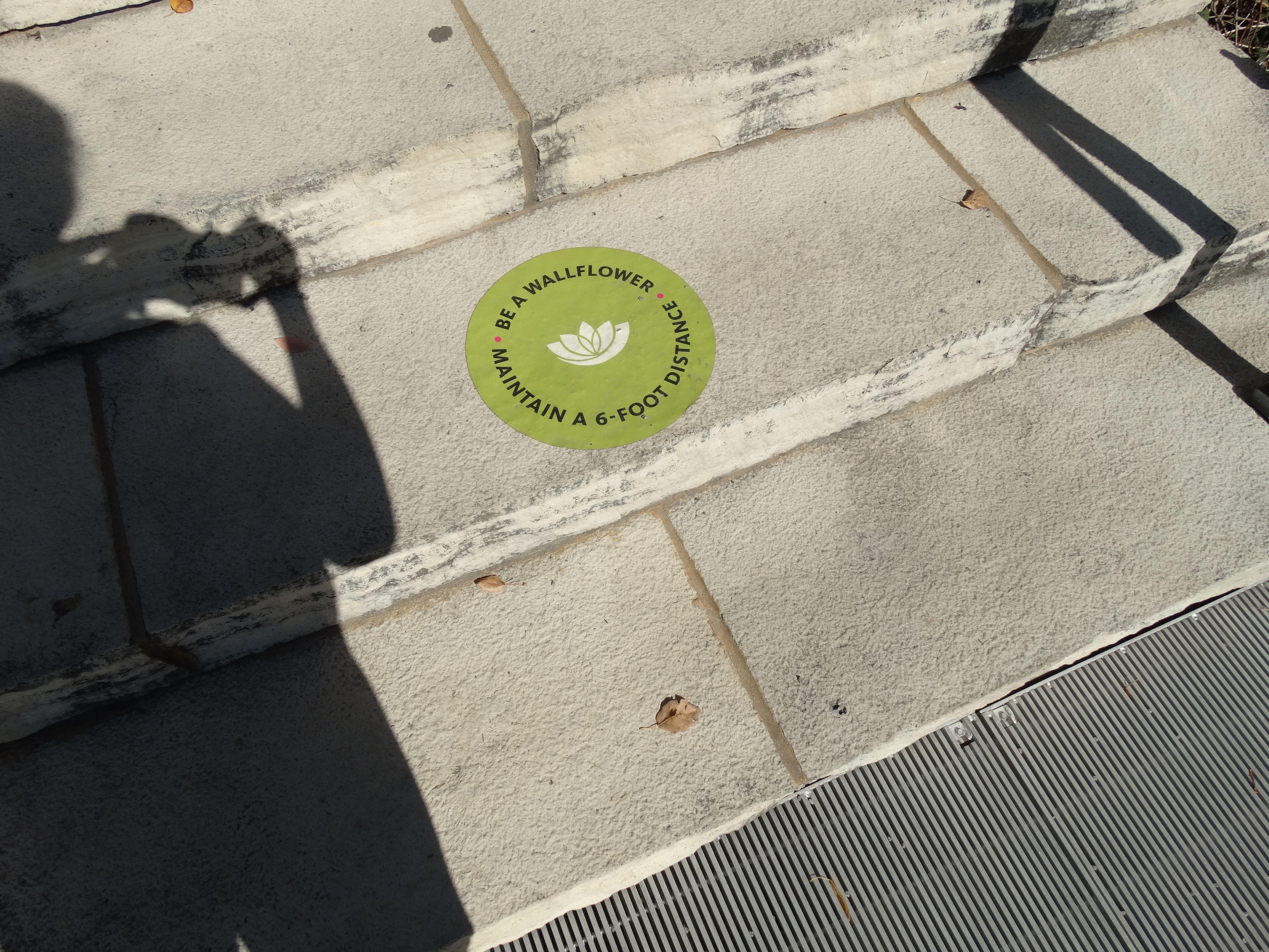 Des Moines Garden Social Distance Sign Fjallraven Kanken Fjallraven Kanken Backpack Social Distance