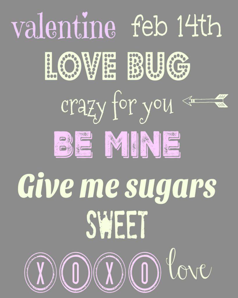 3 Free Valentine Printables - Lou Lou Girls