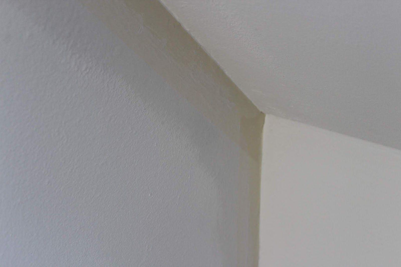Diy Flur Make Over Inklusive Vorher Nachher Mit Neuer Wandfarbe In Schimmer Optik Shiny Rose Streich Tipps Wandfarbe Schoner Wohnen Farbe Wandfarbe Weiss