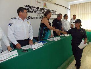 Policiacas: Clausuran Módluo III. Policía Estatal Acreditable