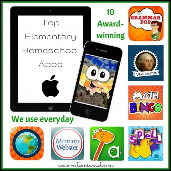 10 Top Elementary Apps for Homeschool Kid Blogger