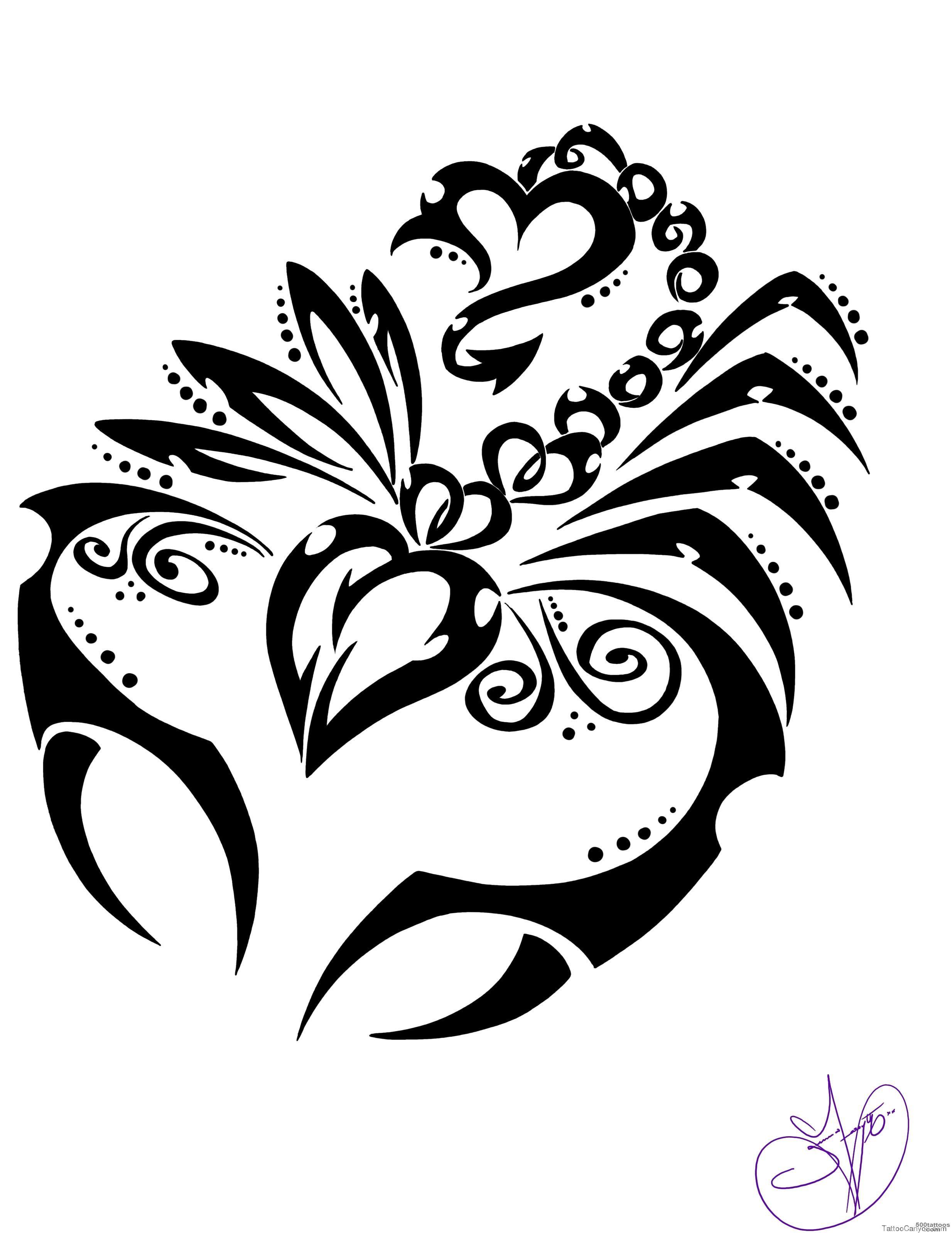 Scorpion Tattoo Photo Num