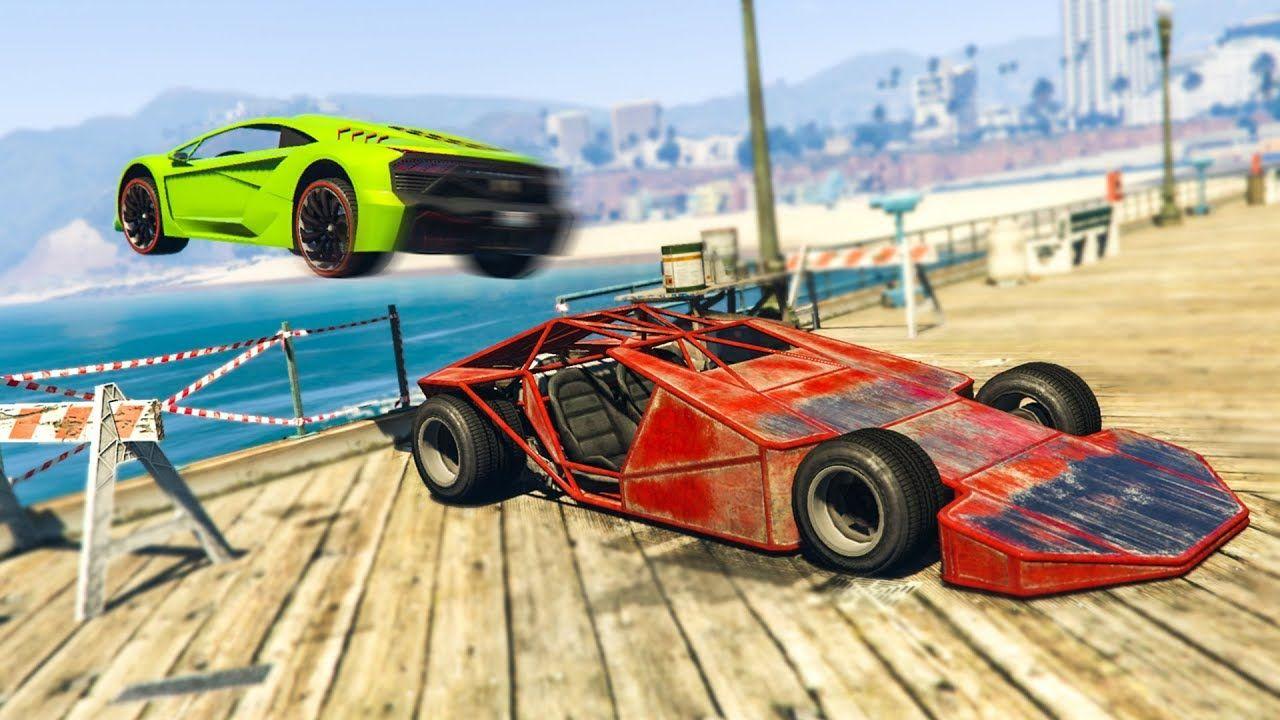 Ramp Car Trolling In Gta Online Gta 5 Funny Moments Papel
