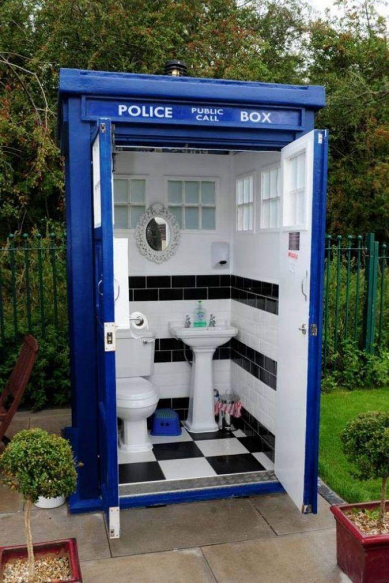 Дизайн туалета на дачном участке   Дизайн туалета, Туалет ...