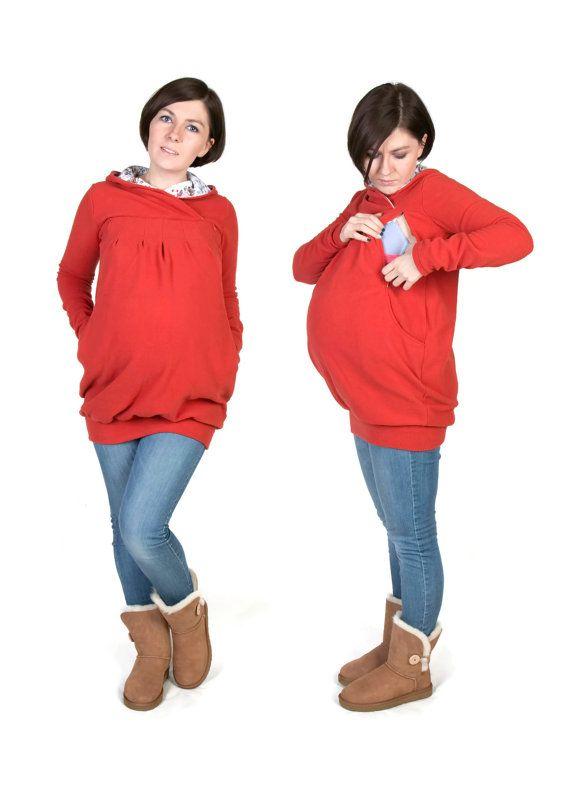 3 in 1 Mutterschaft Schwangerschaft Sweatshirt von fun2BEmum