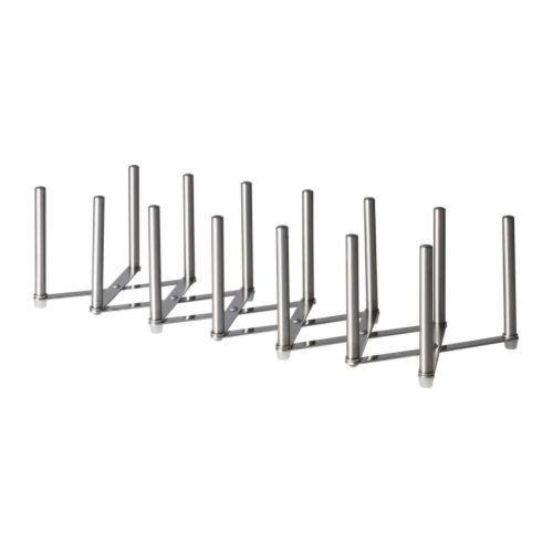 Ikea Variera Deckelhalter Aus Edelstahl Amazon De Kuche Haushalt Topfdeckel Organisation Deckelhalter Ikea Variera