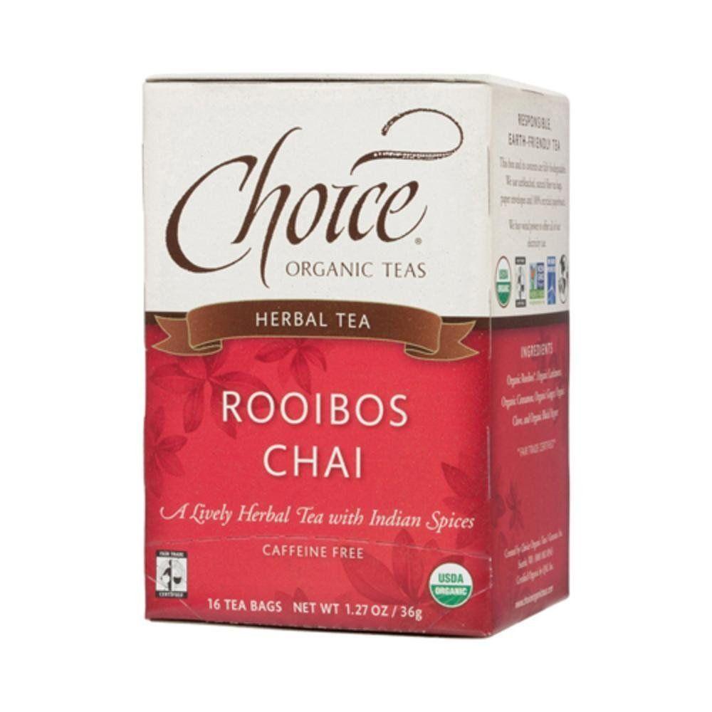 Choice Organic Teas Tea Og2 Rooibos Chai 16 Bag -- Click