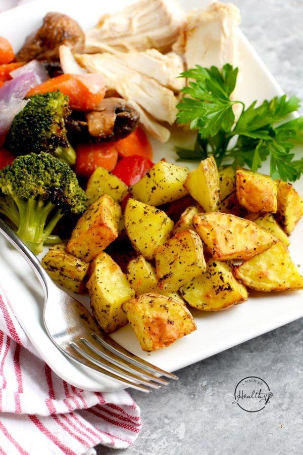 Air Fryer Roasted Potatoes Recipe in 2020 Air fryer