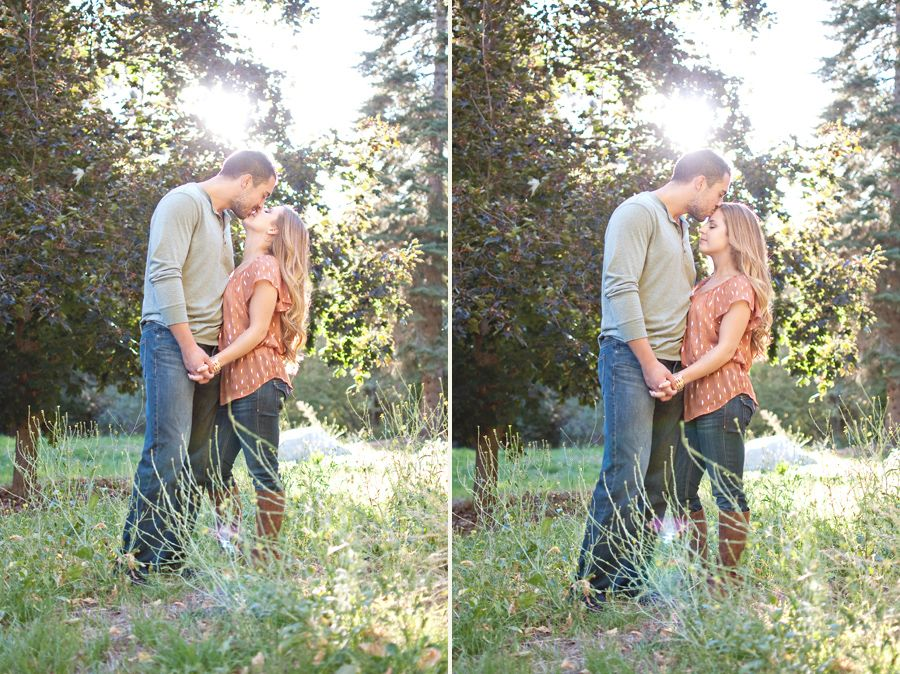 Oak Glen Portrait and Wedding Photographer – Hailey & Richard : Engaged!! » Blair Nicole Photography