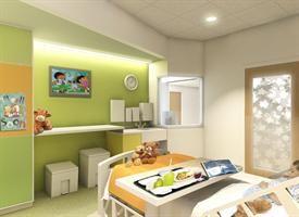 Interior design of golisano children s hospital to be - Interior decorators rochester ny ...