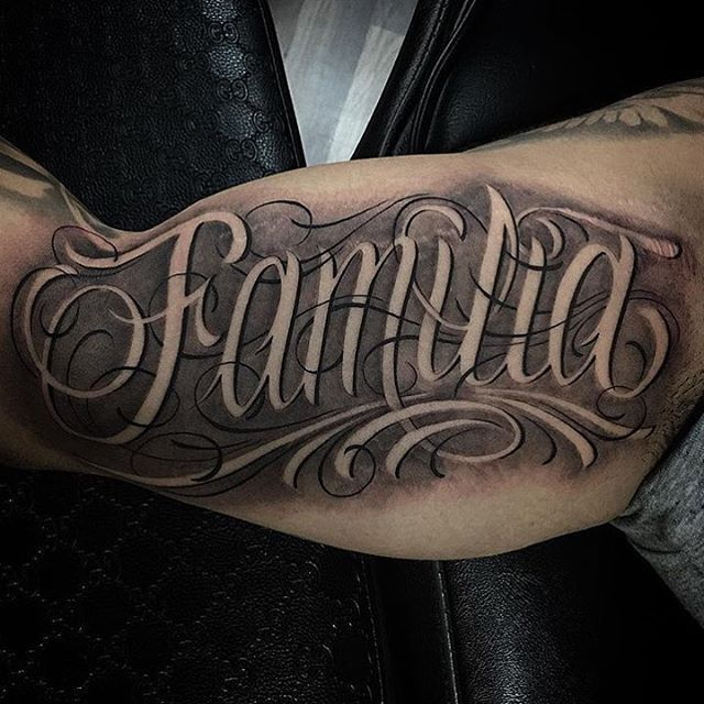 Familia Pescoco Tattoo Lettering Styles Tattoo Font For Men Tattoo Script Fonts