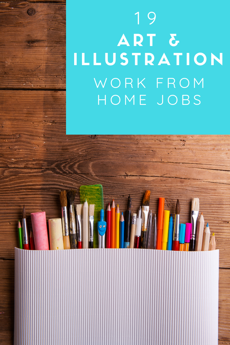19 Amazing Freelance Art Jobs You Can Start Earning Money With Jobs In Art Graphic Design Jobs Creative Jobs
