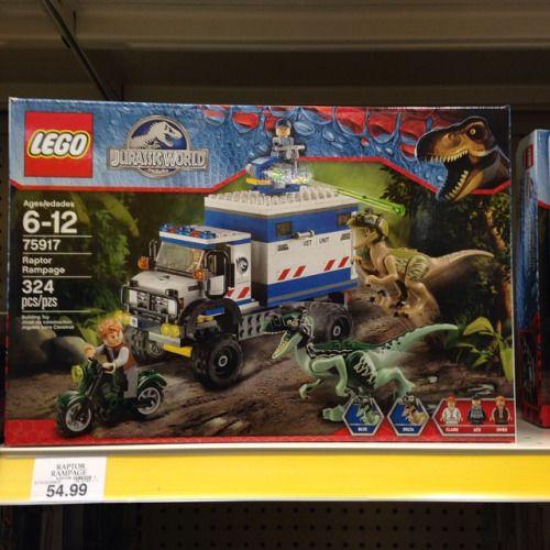 Lego jurassic world raptor rampage set at toys r us lego lego lego jurassic world gumiabroncs Choice Image