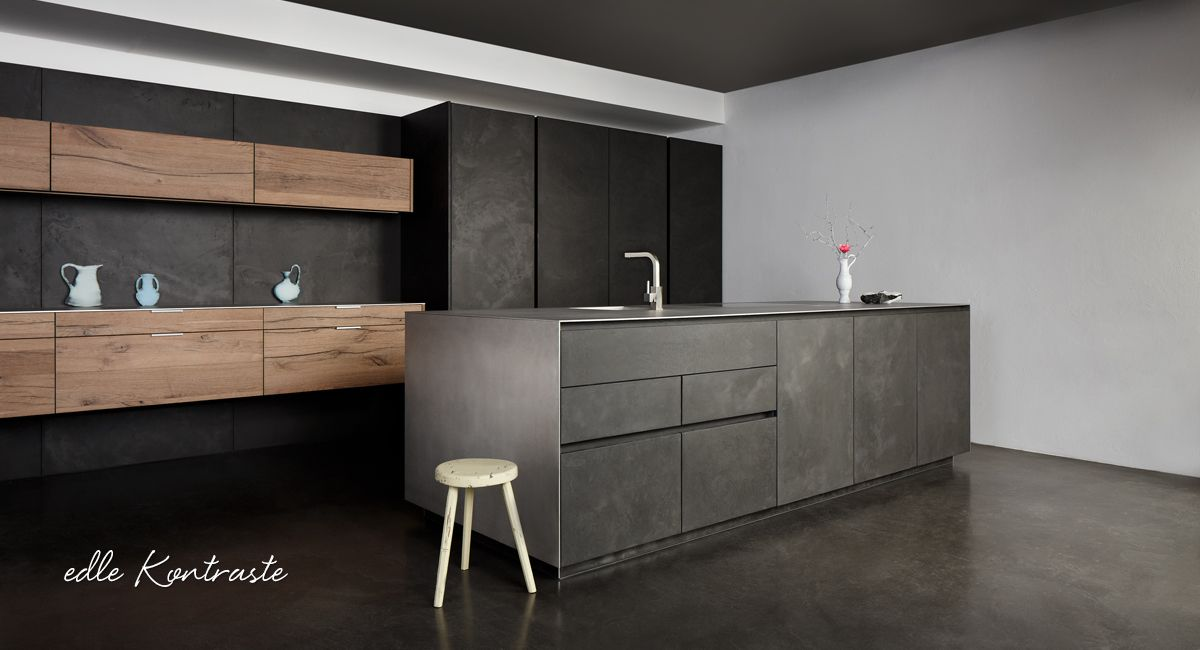 bildergebnis f r altholz furnier k che cocina valle pinterest cocinas cocina moderna y. Black Bedroom Furniture Sets. Home Design Ideas