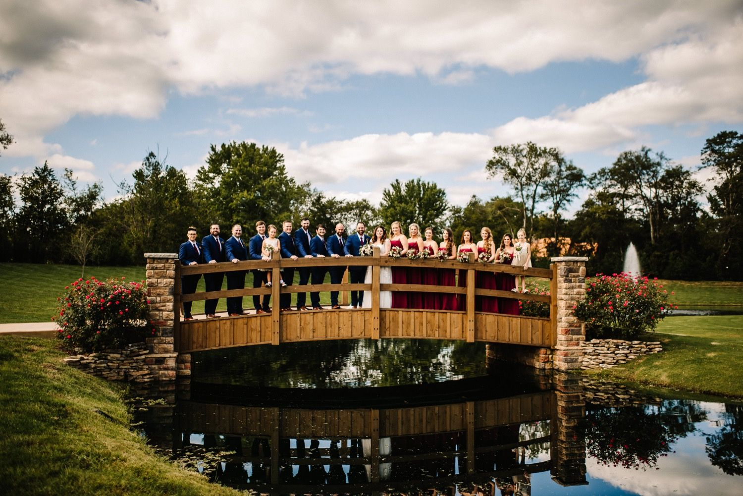 Vibrant September Wedding at the Barn at Sycamore Farms in ...